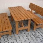 Tradycyjne meble ogrodowe